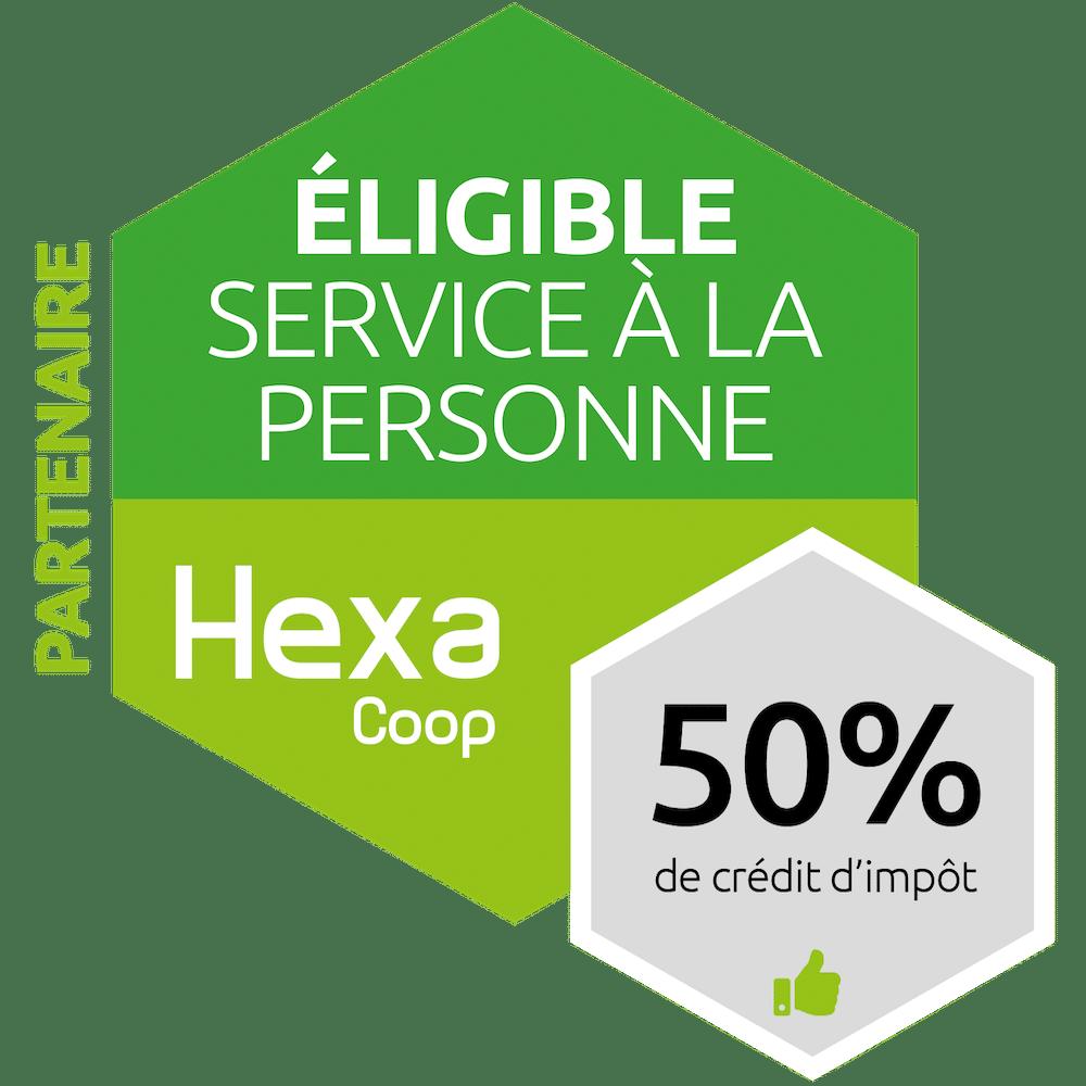 Logo de Hexacoop